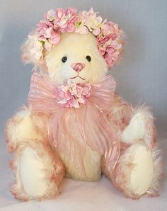 This bear is available at the online teddy bear show March 8th see it on my blog www.marthasbears.blogspot.com