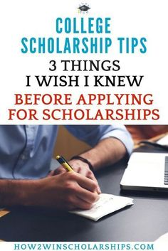 3 Things I Wish I Knew When I First Applied for College Scholarships Do NOT miss these confessions of a college scholarship winner! – College Scholarships Tips Apply For College, Grants For College, Financial Aid For College, College Planning, Online College, College Hacks, Scholarships For College, Education College, College Students