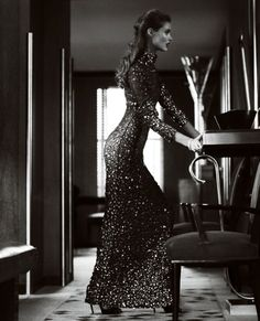 Tom Ford. Love this 1950's Vintage theme.