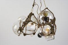 Luminaire Lindsey Adelman  serie Bubble / studio David Weeks