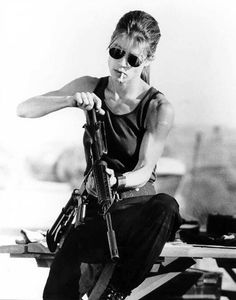 Sarah Connor tops my list as my all time favorite badass.  She not only survived one terminator, but TWO.  I didn't care for the TV version of her character, but the movieverse one is solid.  So for my top 10 list of Women Who Kick Butt Sarah Connor terminates the competition, and takes the number one spot.