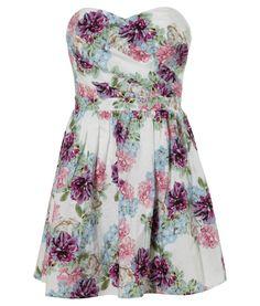 Lipsy Bandeau Floral Prom Dress  http://www.next.co.uk/g37204s5#l15513g37