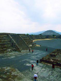Aztec Ruins at Teotihuacan