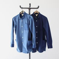 BLURHMS Ornament Stitch Shirt Jacket - Silver and Gold Online Store