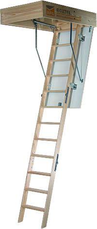 Novoferm driedelige, houten vlizotrappen / zoldertrappen type 1300 - Meer info: http://www.hout-en-bouwmaterialen.nl/novoferm-vlizotrappen-vlieringtrappen-schaartrappen.php