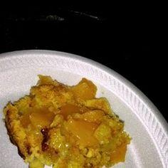 Just made this super easy and yummy!! Peach Cobbler Dump Cake I Recipe - Allrecipes.com