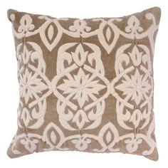 Velveteen throw pillow.   Product: PillowConstruction Material: Cotton velvet cover and polyester fillColo...