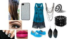 """""""young wild and free"""" by morgan-daigle on Polyvore"""