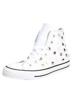 Converse CHUCK TAYLOR ALL STAR - Sneaker high - white - Zalando.de