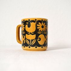 Vintage Mod Mug in the Style of John Clappison for Hornsea of England. $15.00, via Etsy.