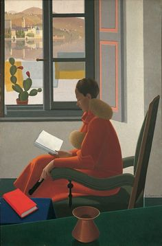 Women Reading - igormaglica: Antonio Calderara, La finestra e il...