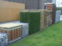 cage stone fence - Google Search