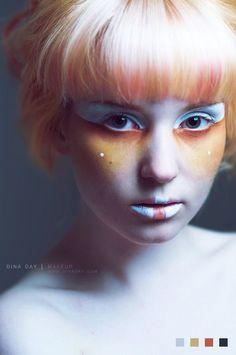 simple alien makeup ideas - Google Search