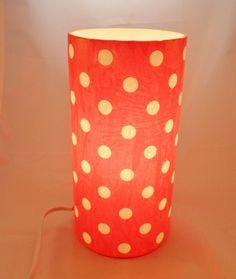 Upcycled Decopatched Table Lamp - ONE DAY SALE £5.00