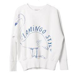 Flamingo Sweatshirt by Bobo Choses - Junior Edition - 1