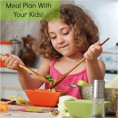 Kids are more willing to try new foods if they pick them out. Get your kids involved in the family's meal planning! 6 fabulous tips here.