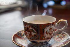 Chai ~ Traditional chai tea recipe, prepared with full-bodied black tea, star anise, cloves, allspice, cinnamon, white peppercorns, cardamom, whole milk and sugar. ~ SimplyRecipes.com