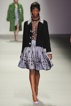 Holly Fulton - Collections Fall Winter 2015-16 - Shows - Vogue.it