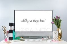Simple & Chic Style iMac Mockup #02 by MMHouseofStyle on Creative Market