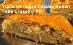 Torta de frango Dukan ~ Projeto Magrass