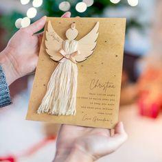 Diy Holiday Gifts, Handmade Christmas, Holiday Crafts, Christmas Angels, Pre Christmas, Christmas Ornament, Christmas Craft Projects, Christmas Decorations, Angel Decor
