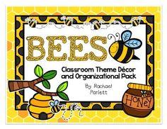 Busy Bee Themed Classroom Decor MEGA PACK