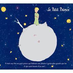 le petit prince dans son astéroïde