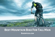 Learning to ride a bike is no big deal. Learning the best ways to keep your bike from breaking down can be just as simple. Tall Man, Tall Guys, Best Mountain Bikes, Mountain Biking, Big Guys, Big Men, Bicycle Maintenance, Bike Frame, Classic Bikes