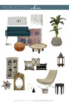 Moroccan Chic: Moroccan style with a modern twist