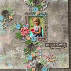 Color My World by Aimee Harrison DesignsVintage Charm #5 Templates by Heartstrings Scrap Art
