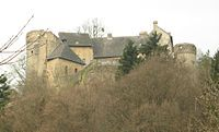 Ansembourg Castle, Luxembourg.