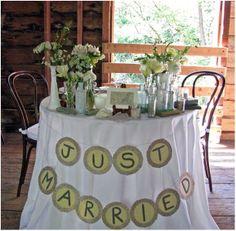 sweetheart tables   Sweetheart Table Ideas