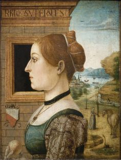 Portrait of a Woman, possibly Ginevra d'Antonio Lupari Gozzadini, ca. 1485–90