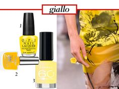 smalti GIALLO
