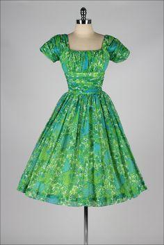 1950's Jonathan Logan Chiffon Dress