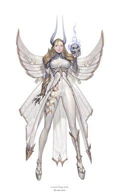 ArtStation - character design study, ki minwoo Game Character Design, Fantasy Character Design, Character Creation, Character Concept, Character Inspiration, Character Art, Concept Art, Cute Characters, Fantasy Characters