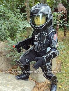 coolest little odst halo costume halo halloweenboy