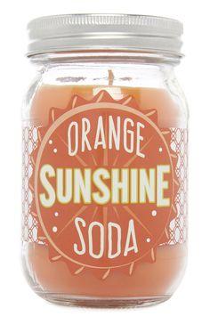 Orange Sunshine Soda Candle