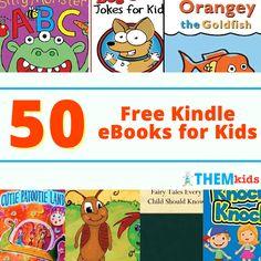 50 Free Kindle eBooks for Kids