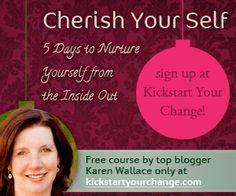 Cherish Your Self at kickstartyourchange.com