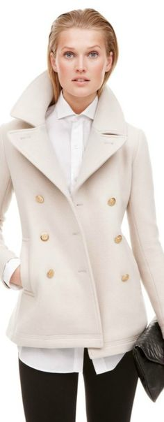 J.Crew - September Style Guide - I love this! But it's white which means NO WAY!! Hahaha!