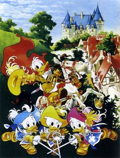 This page is dedicated to the Disney Ducks Universe. Disney Ducktales, Scrooge Mcduck, Duck Tales, Disney Posters, Comic Store, Mickey Mouse And Friends, Walt Disney Company, Disney Dream, Cute Illustration