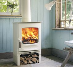 woodburner  Had one would love a cream one !