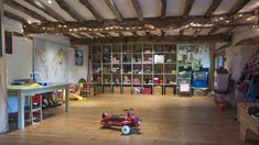 Now this is what we call a children's play room! Eadric House is a luxury self-catering family holiday home in Devon #playroom #ultimate #luxury #funtime #playtime #spoilt #holiday