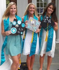 Decorate your grad cap at www.tasseltoppers.com