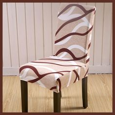 SunnyRain 4/6 Pieces Polyester Chair Covers Spandex Wedding Chair Covers Dining Chair Cover housse de chaise fundas para sillas