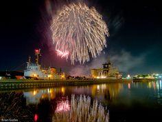Grand Haven Coast Guard Fireworks....