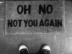 Haha...i want this doormat