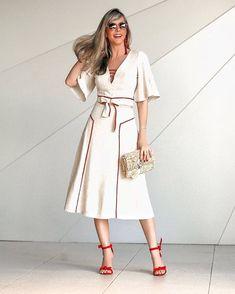 Stylish Dresses, Simple Dresses, Stylish Outfits, Summer Dresses, Skirt Outfits, Dress Skirt, Skirt Fashion, Fashion Dresses, Flare Dress