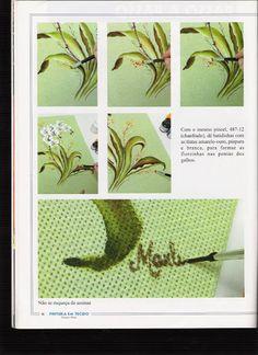 Pintura em Tecido - Edição 6 - Alice Pinto - Álbuns da web do Picasa